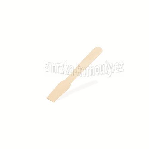Zmrzlinová lžička dřevěná 9,5 cm, balení 500 ks.