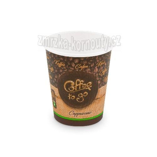 "Papírové kelímky ""Coffee to go"", ""M"", 280 ml,průměr 80 mm, balení 50 ks."