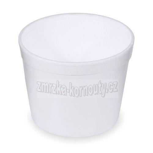 Termo-miska kulatá bílá 550 ml, balení 25 ks