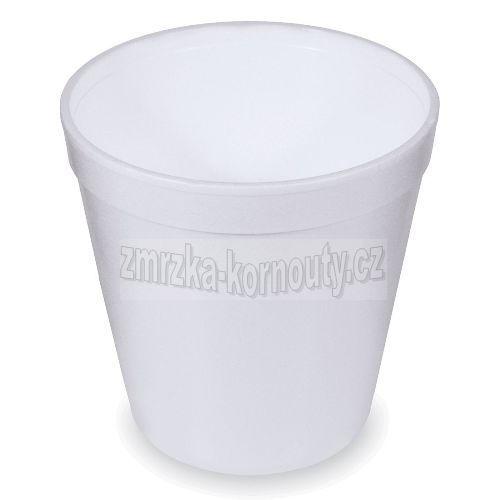 Termo-miska kulatá bílá 680 ml, balení 25 ks