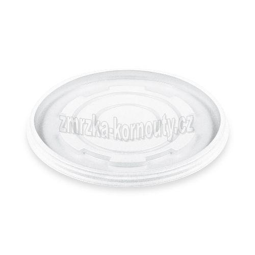 Víčko pro misky 340-680 ml, PS, průhledné, balení 50 ks.
