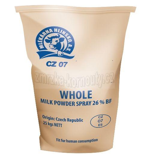 Tatra Sušené mléko plnotučné, 25 kg